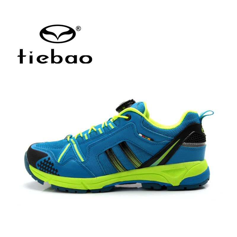 Tiebao Outdoor Cycling Shoes Men Leisure Bike Shoes Breathable MTB Bicycle Shoes Durable Athletic Shoes sapatilha ciclismo