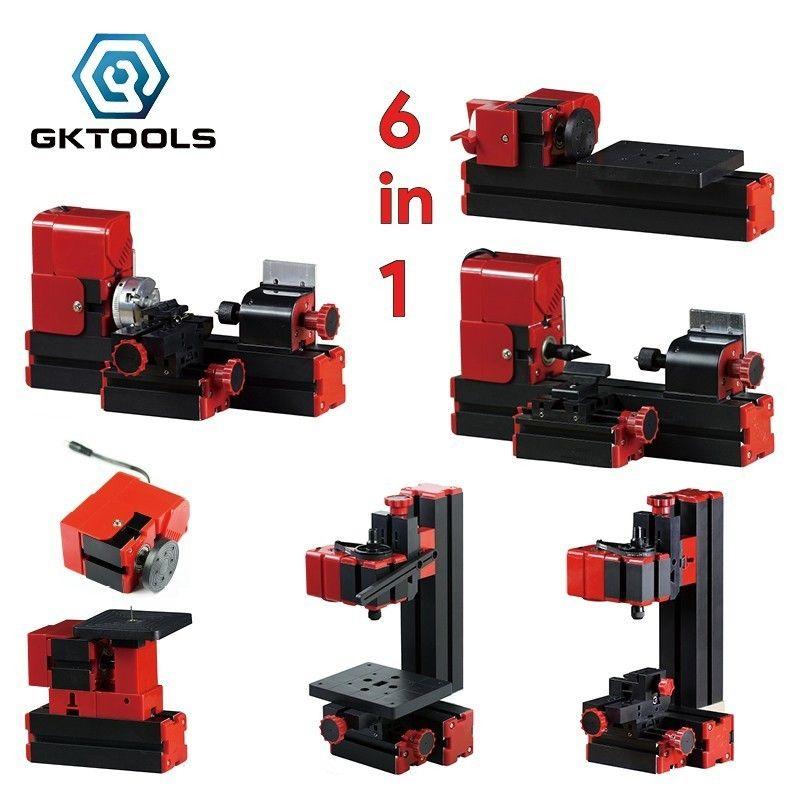 Z6000 6 in 1 Kit, DIY 24W Basic Mini lathe kit,24W 20,000r/min, Standardized children education,BEST Gift