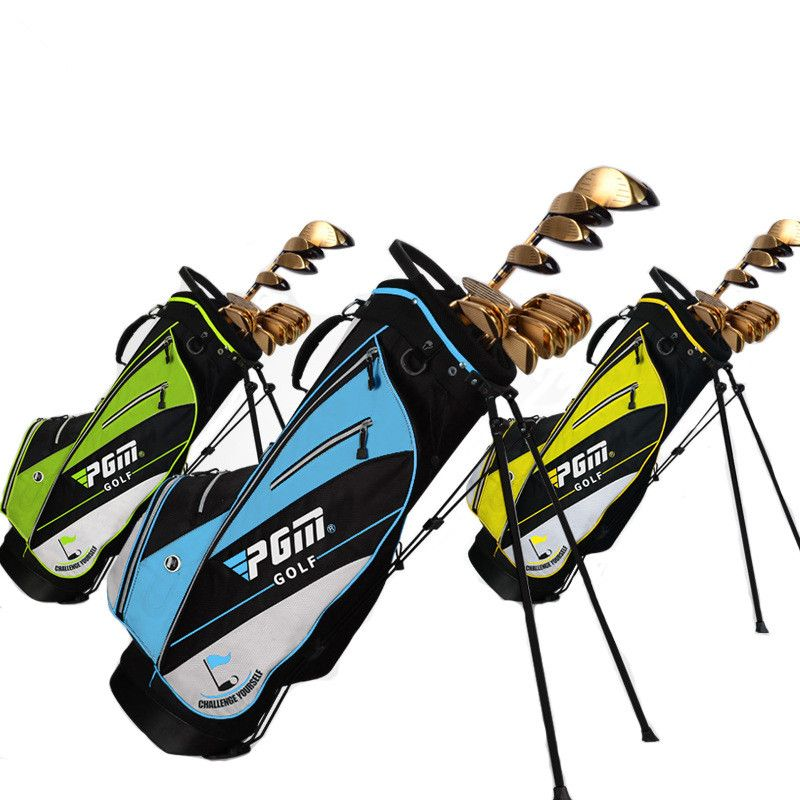 Golf bag golf rack bag Ball bag comes with pull rod pulley High hardness plastic base Advanced nylon fabric material