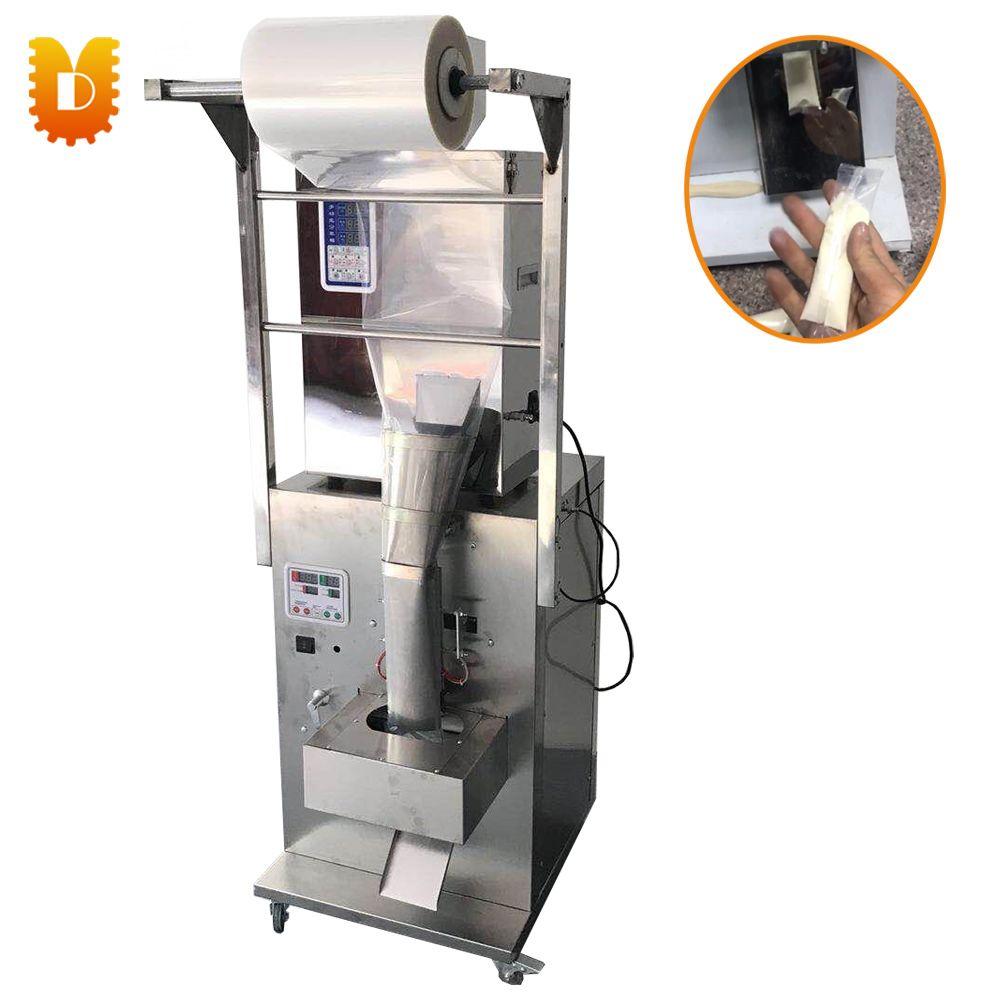 1-999g Snack Lebensmittel Getreide Granulat Und Pulver Füllung Und Verpackung Maschine/Automatische Zurück Abdichtung Maschine