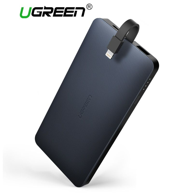 Ugreen Power Bank 10000mAh External Phone Battery Charger for iPhone X 8 7 Xiaomi Samsung S8 Huawei P20 Portable Poverbank 10000