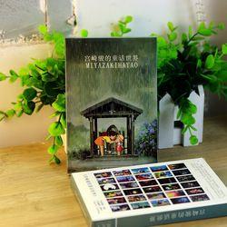 30 feuilles/LOT Hayao Miyazaki Peinture À L'huile Carte Postale Hayao Miyazaki Cartes Postales/Carte De Voeux/Carte De souhaits/Mode cadeau