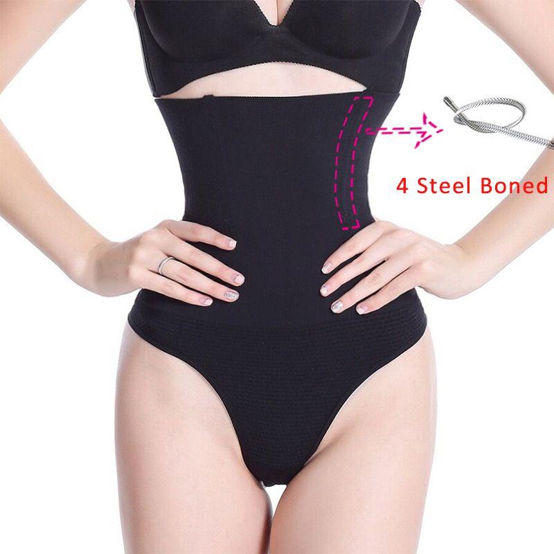 Serre-taille String Ceinture Butt lift Ventre Plus Mince String Culotte Minceur Shapewear Contrôle Shaper serre-taille Hip Up Sous-Vêtements
