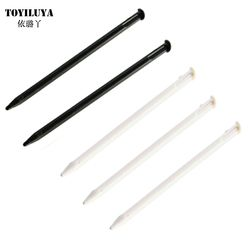 5X Original Black/White Color Plastic Touch Stylus Pen Replacement For Nintendo New 3DS Game Console High Quality Free Shipping