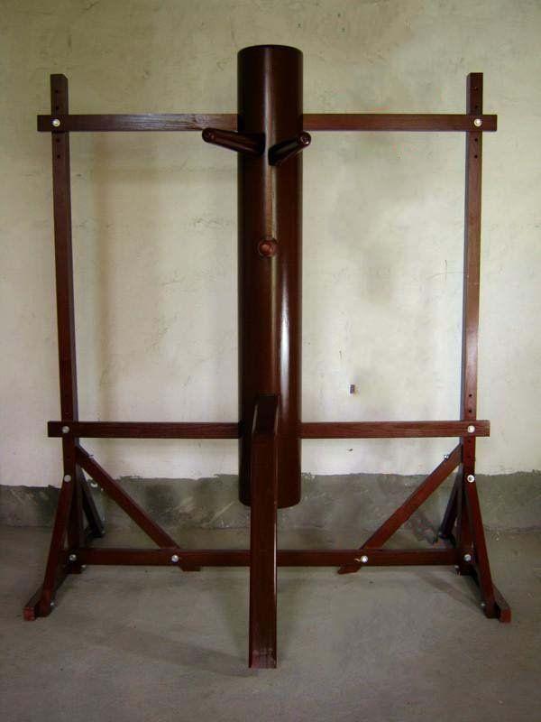 Gerahmte stil Wing Chun Holzpuppe Wing Chun Dummy Professionelle mann kungfu zug mook jong ausrüstung