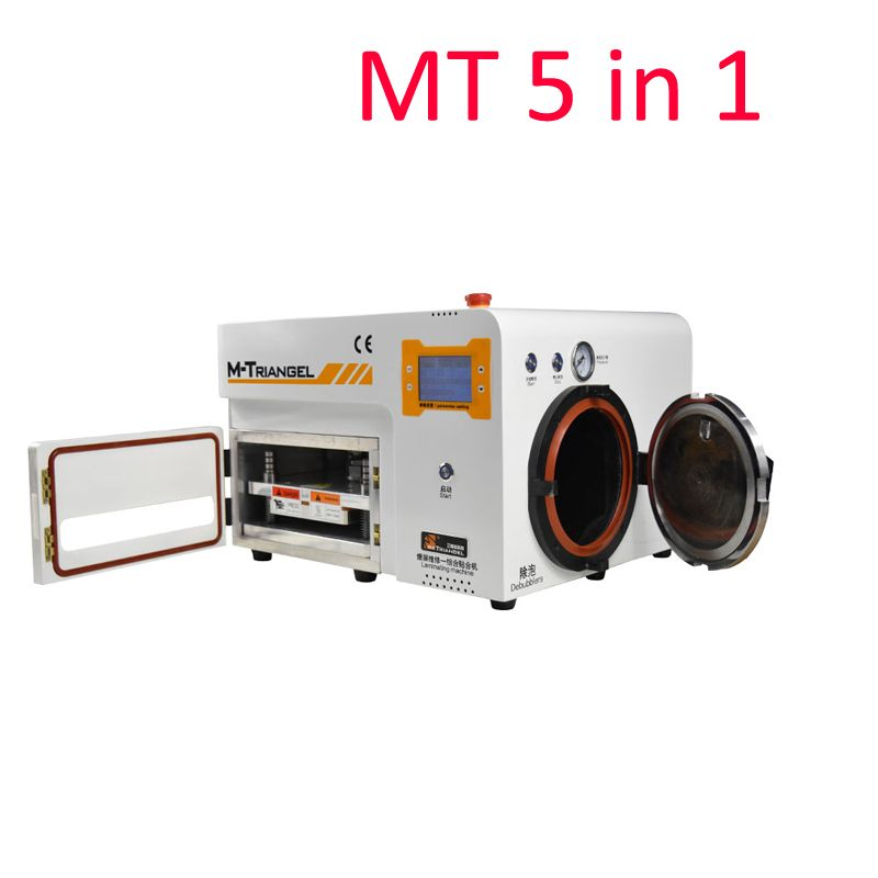 High Quality 5 in 1 MT OCA Vacuum Laminating Machine Autoclave LCD Screen Bubble Remover Debubbler