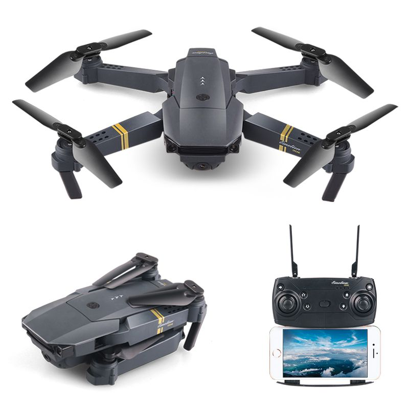 RC Quadcopter WIFI FPV HD Camera Wide Angle Folding Foldable Mini Altitude Hold High Selfie Drone Headless VS H47 E58 Helicopter