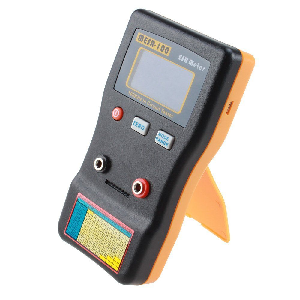 LIXF-MESR100 V2 AutoRanging In Circuit ESR Capacitor Meter Tester (Up to 0.001 to 100R)