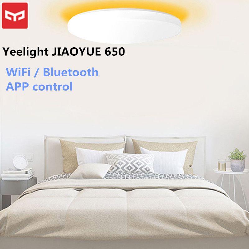 Xiaomi Yeelight JIAOYUE 650 Ceil Lumière WiFi/Bluetooth/Smart APP de Contrôle Entourant Les Ambiante Éclairage LED Plafonnier 200 -240 V
