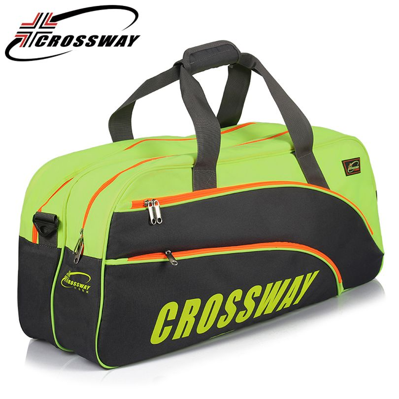 CROSSWAY Badminton rackets Large Capacity Backpack bag training 6-12 tennis rackets Gym Shoulder Bag Waterproof Multi-layer228