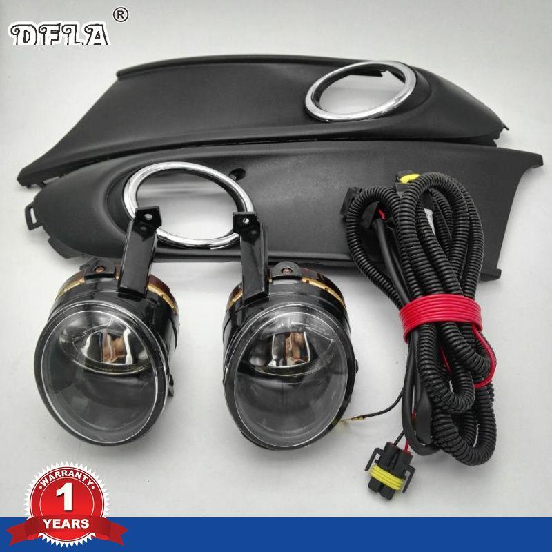 Car Light For VW Polo Vento Sedan Saloon 2011 2012 2013 2014 2015 2016 Fog Light Fog Lamp Fog Light Cover And Harness Assembly