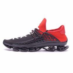 Joomra Olahraga Sepatu Lari 2019 Renda-Up Latihan Pasangan Sneakers Breathable Mesh Huruf Ukuran Sepatu 36- 48 Pria untuk Pria