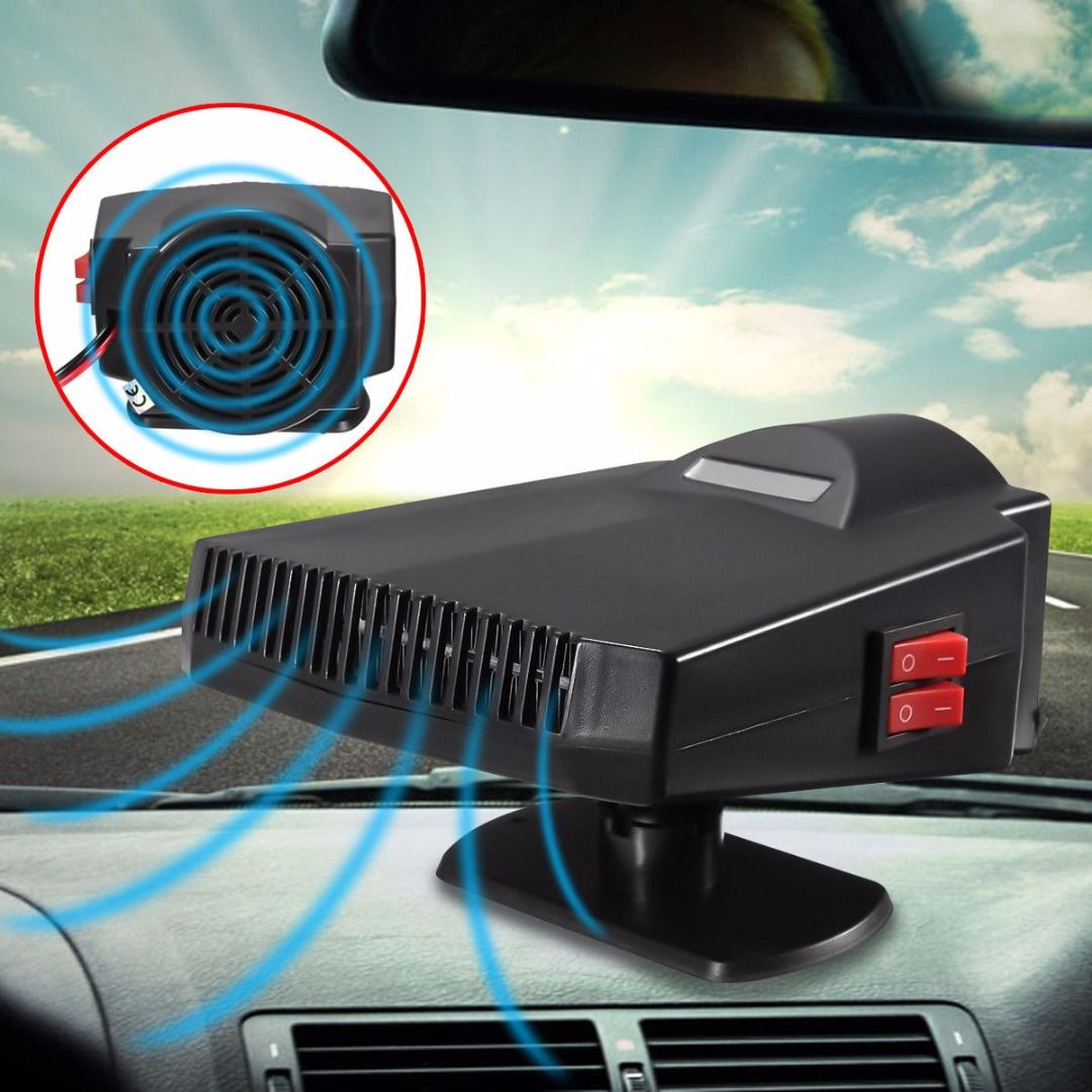 High Quality 12V 200W Portable Car Heater Fan Heating Cooling Auto Windshield Window Defroster Demister