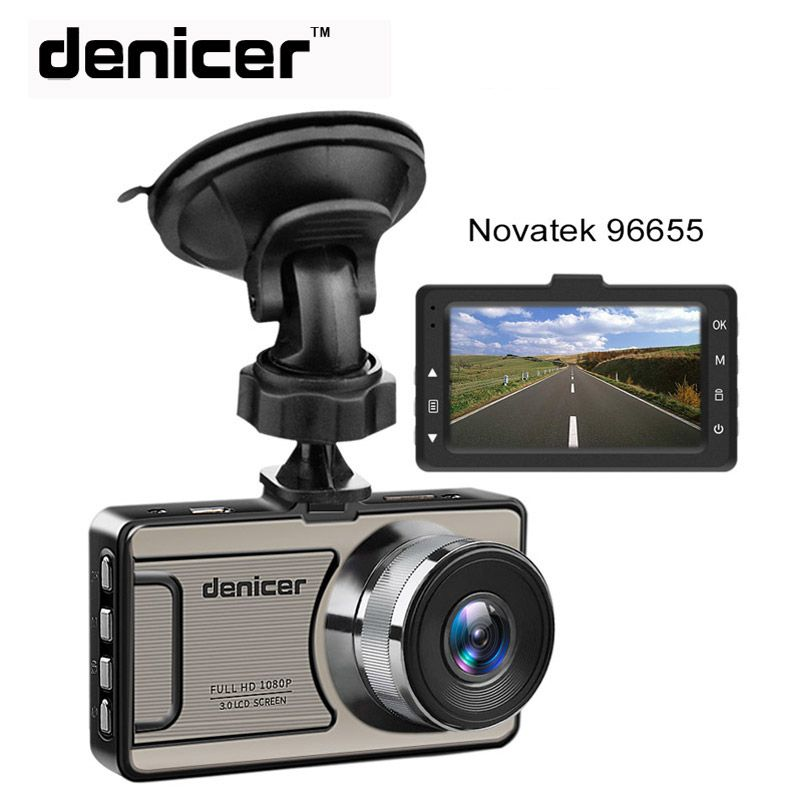 3 Car Dash Camera Vehicle Cam Full HD 1080P DVR 170 degree wide Angle in Car Video Recorder Dashboard Camera With Night Vision