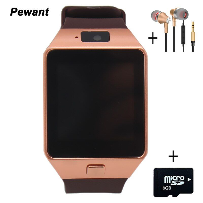 Factory Wholesale Original DZ09 Smart Watch With Camera Bluetooth WristWatch SIM Card For Android Smart Phone Smartwatch DZ 09