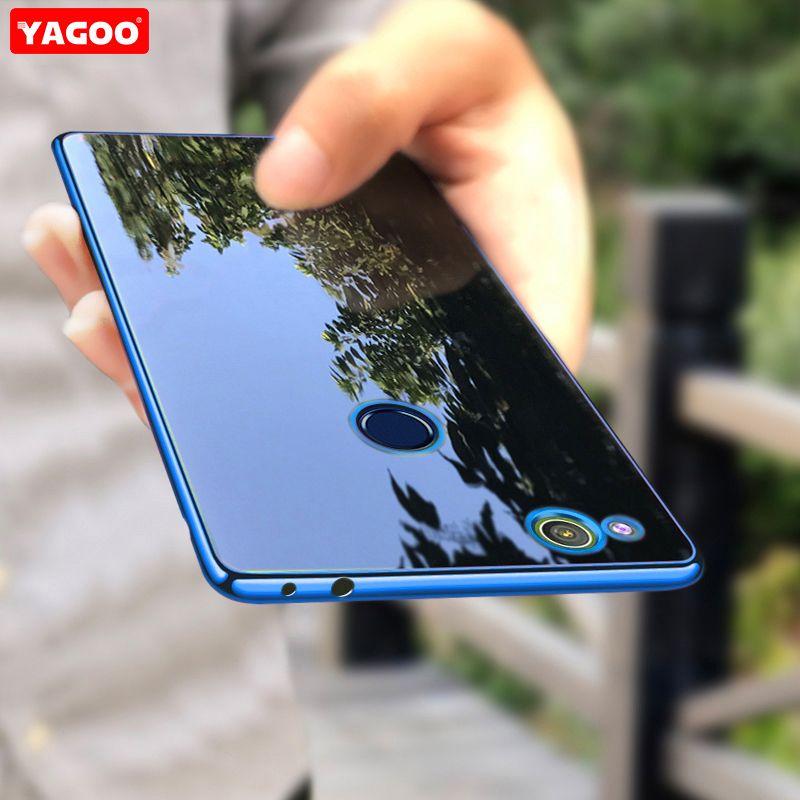 Für Huawei Honor 8 lite fall silikon Transparent TPU Für Huawei Honor 8 lite fall abdeckung YAGOO Luxus honor 8 lite fundas coque