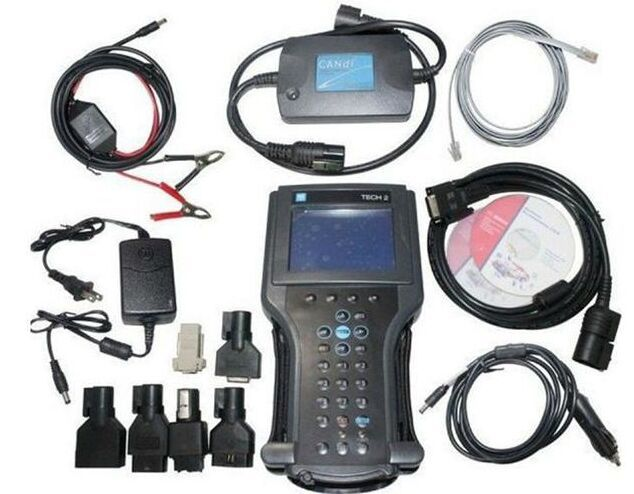tech2 diagnostic tool for G-M/SAAB/OPEL/SUZUKI/ISUZU/Holden g-m tech 2 scanner in carton box