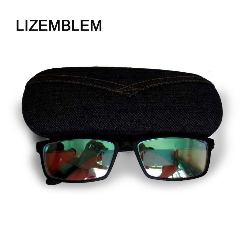 Frauen Männer Farbenblindheit Korrektur Aluminium/Tr90 Sonnenbrille Prüfung Colorblind Fahren Rot Grün Farbe Blind Gläser