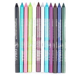 1 Pcs Charme Femmes Longlasting Waterproof Eye Liner Crayon Pigment Blanc Couleur Eyeliner Cosmétique Maquillage Beauté Outils