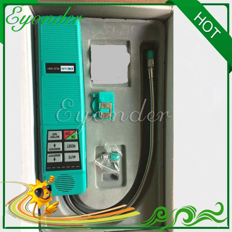 Car Auto A/C AC Air Conditioning System Repair Tool Halogen Refrigerant Gas Tester leak detector HLD-100 without Battery