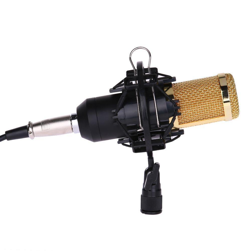 Высокая производительность bm-800 конденсаторный микрофон видео Регистраторы Студийный микрофон для студии Live Потоковое вещание Запись