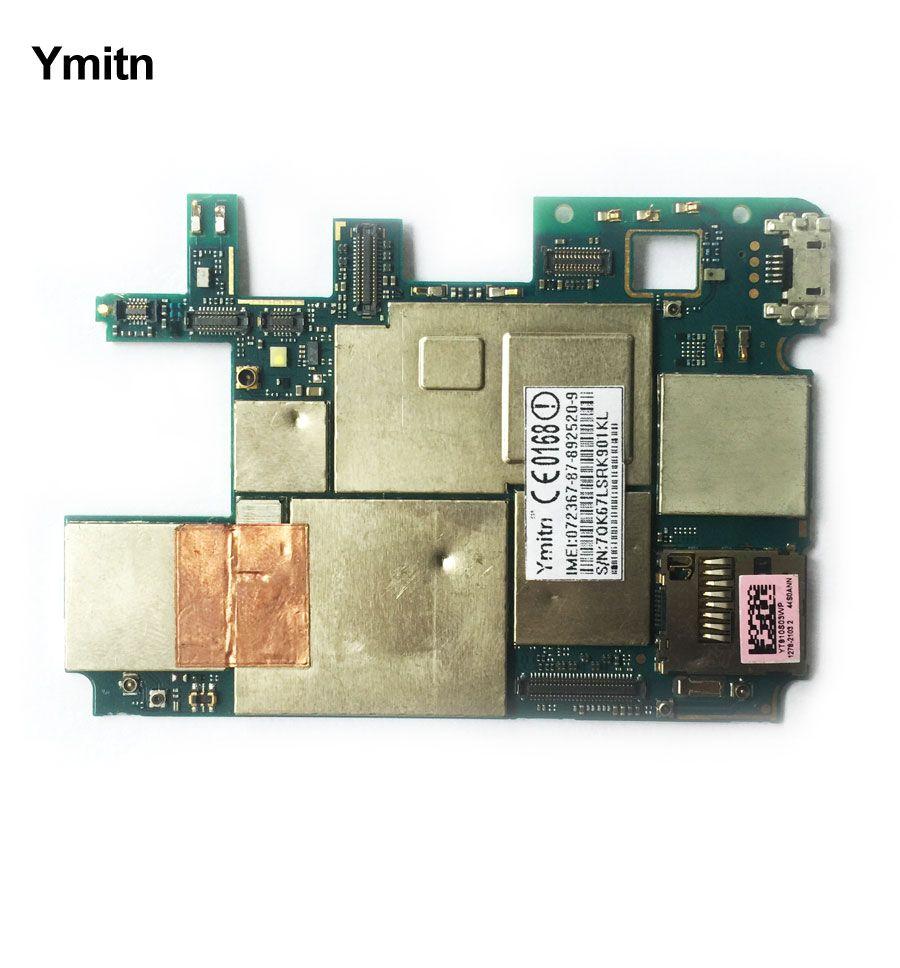 Ymitn Logement Mobile Électronique panneau carte mère Carte Mère Circuits Câble Pour Sony xperia T2 Ultra XM50h XM50t