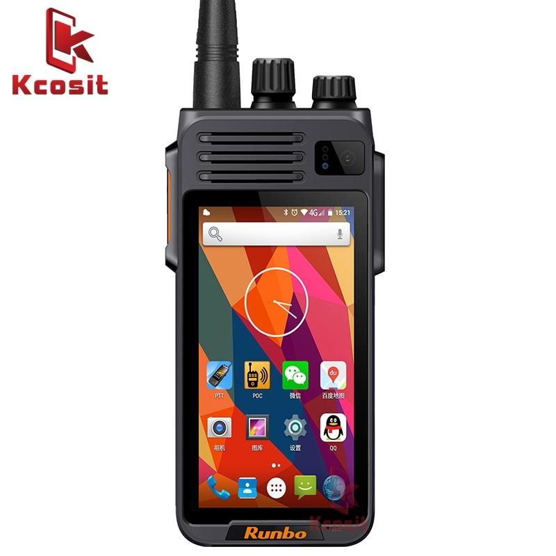 China Runbo K1 IP67 Wasserdichte Telefon Robuste Android Smartphone Quad Core DMR Digitale VHF Radio UHF PTT Walkie Talkie GPS 4G LTE