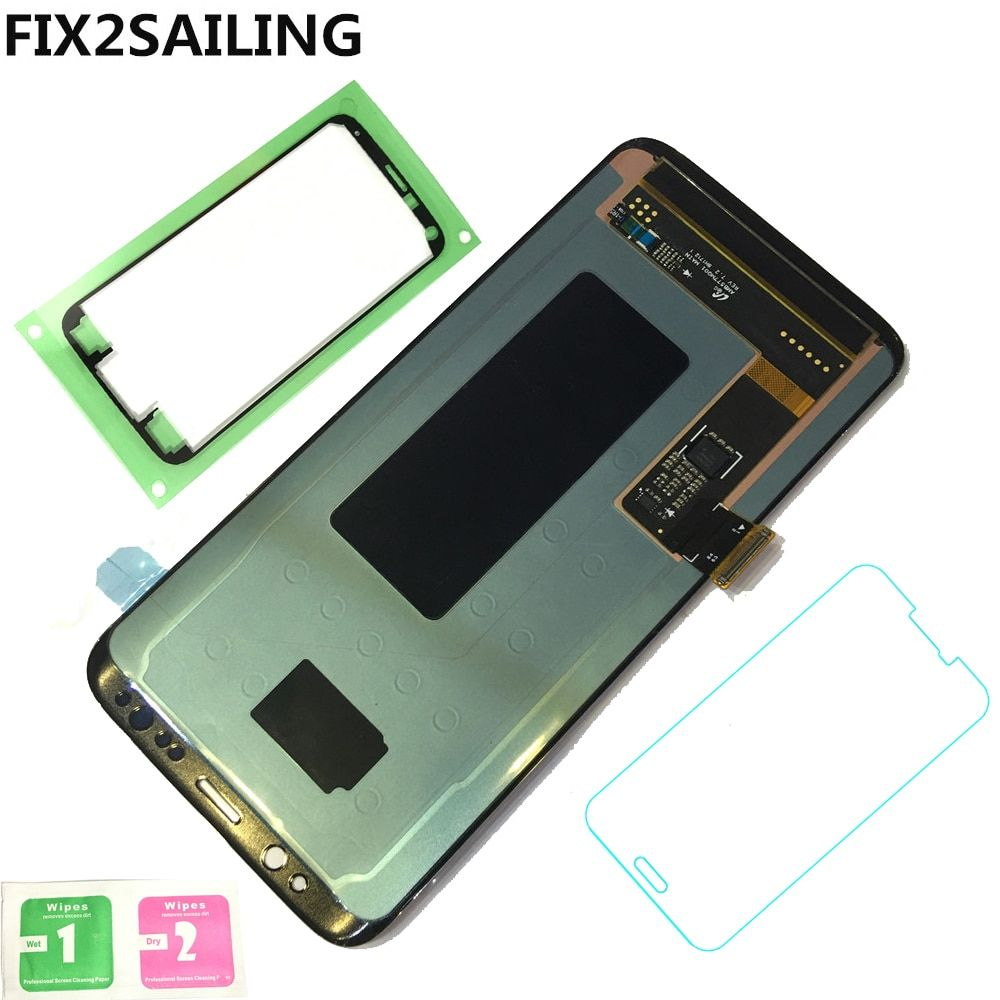New LCD Display 100% Tested Working Touch Screen Assembly For Samsung Galaxy S8 G950F G950FD G9500 G950U Black