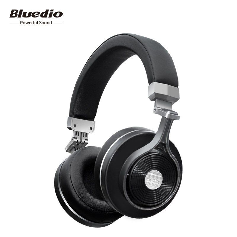 Bluedio T3+/T3 <font><b>Plus</b></font> Wireless Bluetooth Headphones/Headset with Microphone & SD card Slot for music phones