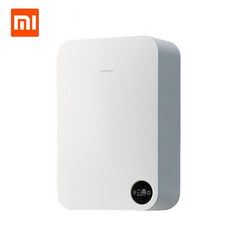 Xiaomi Smartmi Smart Air Purifier Home Fresh Air System Air Millet Purifier Anti Fog Haze Formaldehyde Oxygen Bar PM2.5