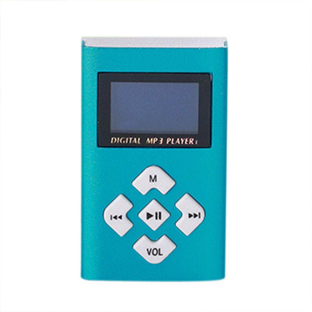 FGHFG FT Verbraucher digitalen Speicher 2018 Hifi USB Mini MP3 Player LCD Screen Unterstützung 8 gb Micro SD TF Karte drop Verschiffen