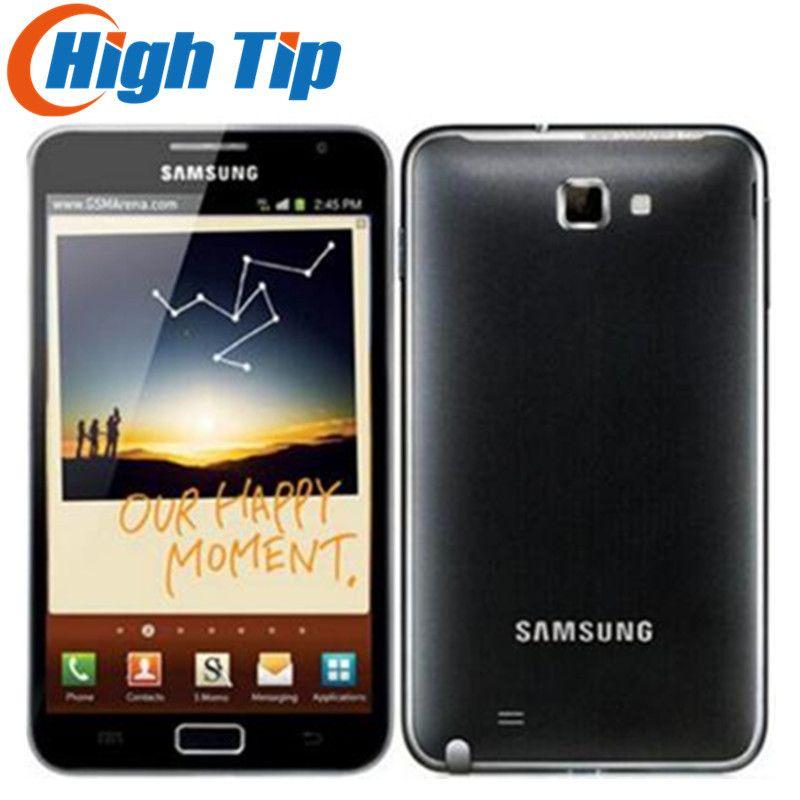 D'origine samsung Galaxy note i9220 n7000 UE version Dual Core 5.3 ''Android téléphone portable 8MP Wifi GPS Écran tactile rénové