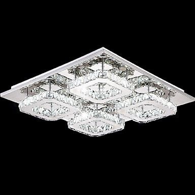 Flush Mount Modern LED Crystal Ceiling Light For Bedroom Living Room Lights Lustre Crystal Ceiling Lamp Cristal