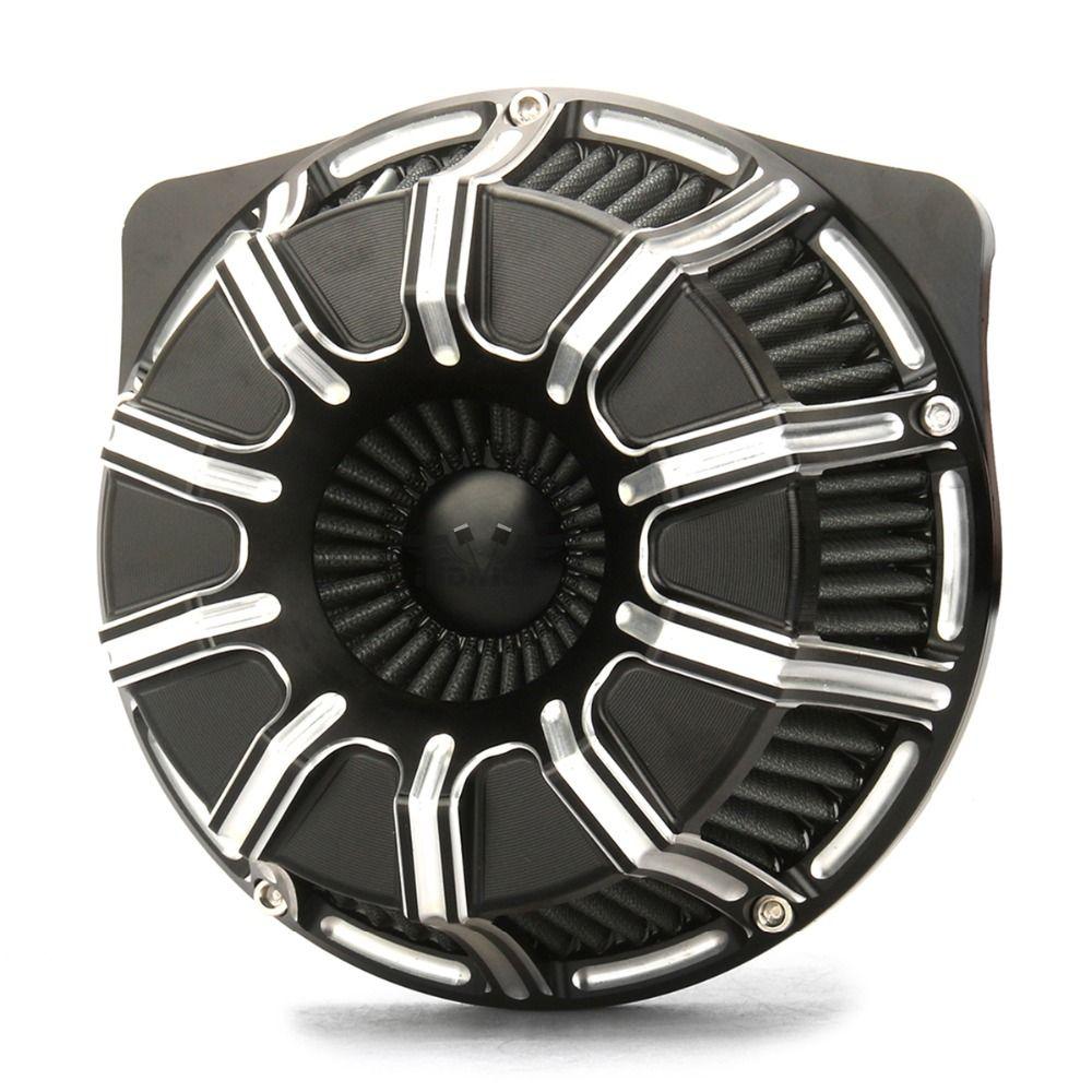 Motorcycle 10-Gauge Air Cleaner Intake Filter Fit For Harley Sportster 883 1200 72 48 2004-2015 harley sportster air filter