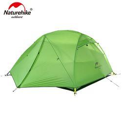 NatureHike Star River Camping Tenda Upgrade Ultralight 2 Orang 4 Musim Tenda dengan Mat NH17T012-T