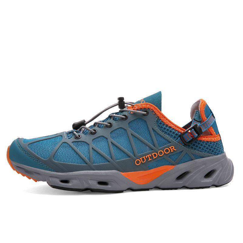 Men's Outdoor Breathable Hiking Shoes Lightweight Walking Climbing Shoes Women Aqua Water Trekking Shoes zapatos hombre