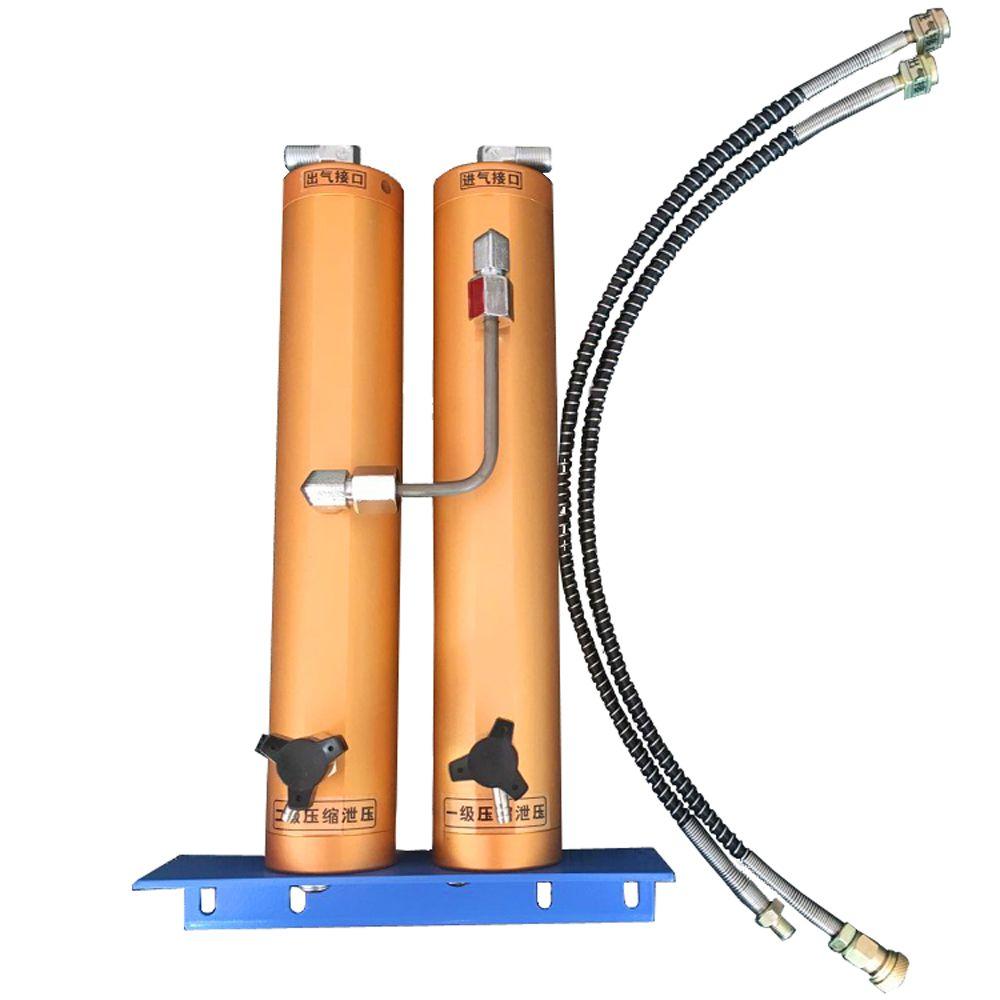 30Mpa Air Filter External Water-Oil Sparator Double Bucket Filtration for Scuba diving high-pressure air compressor air pump