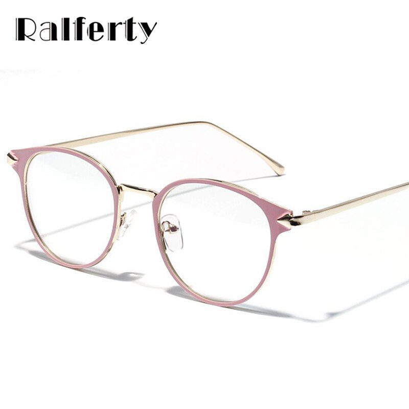 Ralferty 2017 Vintage Eyeglass Women Frame Myopia Optical Eyewear Frames Glasses Clear spectacle oculos de grau feminino 3204