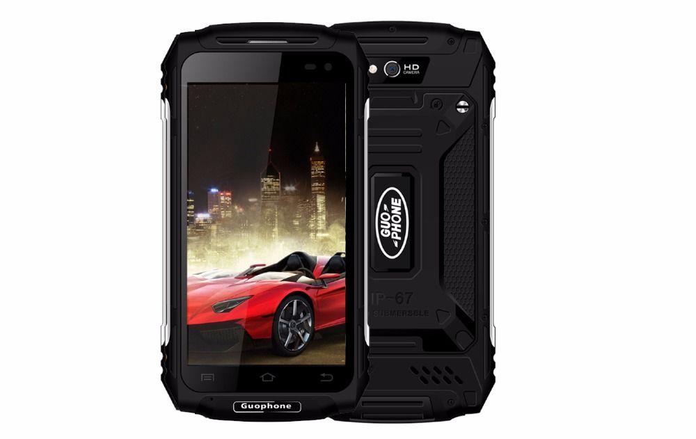 Guophone X2 IP67 Wasserdichte Staubdicht Smartphone 1280*720 5,0