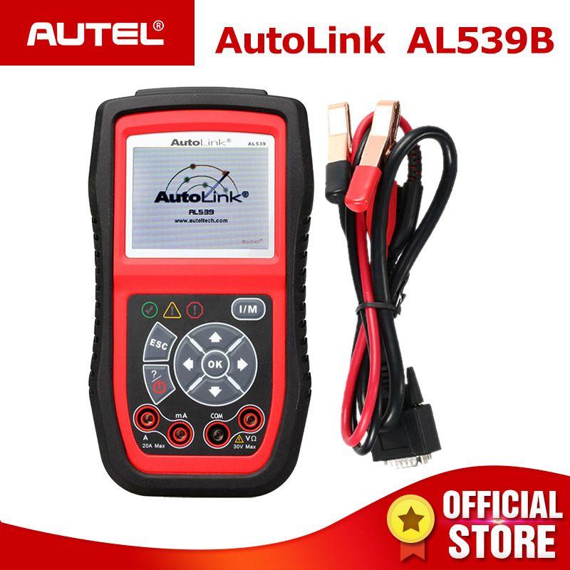 Autel Autolink AL539B OBD2 scanner automotive Electrical Test Tool For odb2 diagnostic tool EOBD OBD 2 car Code Reader PK al539