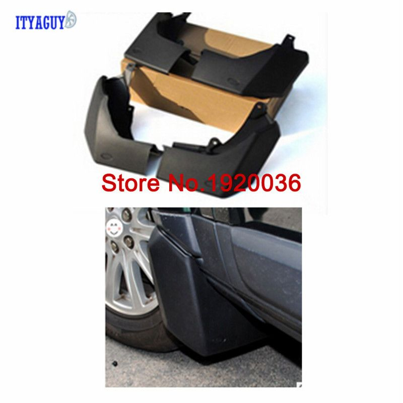 CAR STYLING ACCESORIES MUD FLAP FLAPS MUDGUARDS FIT FOR LAND ROVER DISCOVERY 4 / LR4 2009-2016 SPLASH GUARDS FENDER