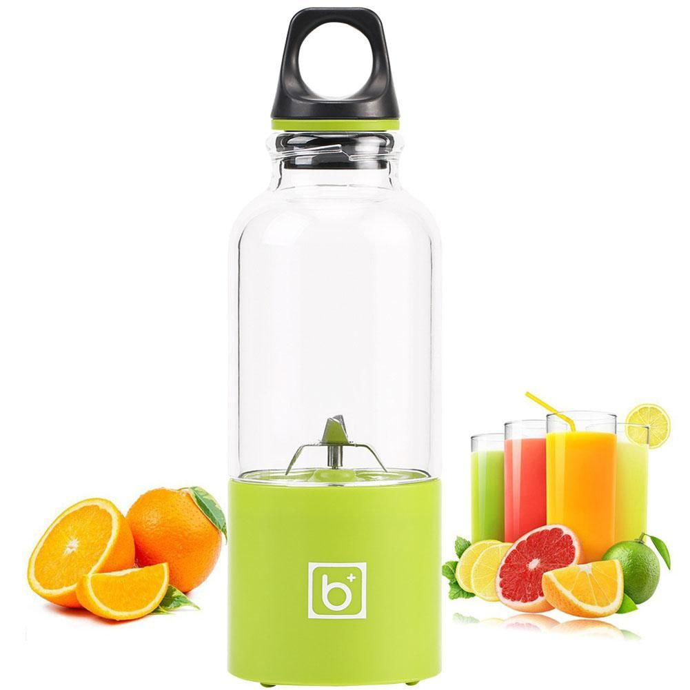 Adoolla 500ml Mini Juicer USB Rechargeable Portable Blender Fruit Juice extractor Machine Orange Juicers Smoothie Cup