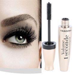 3D Fiber De Mascara Long Cils Silicone Brosse Courber Allongement Mascara Waterproof Maquillage des yeux Cosmétiques