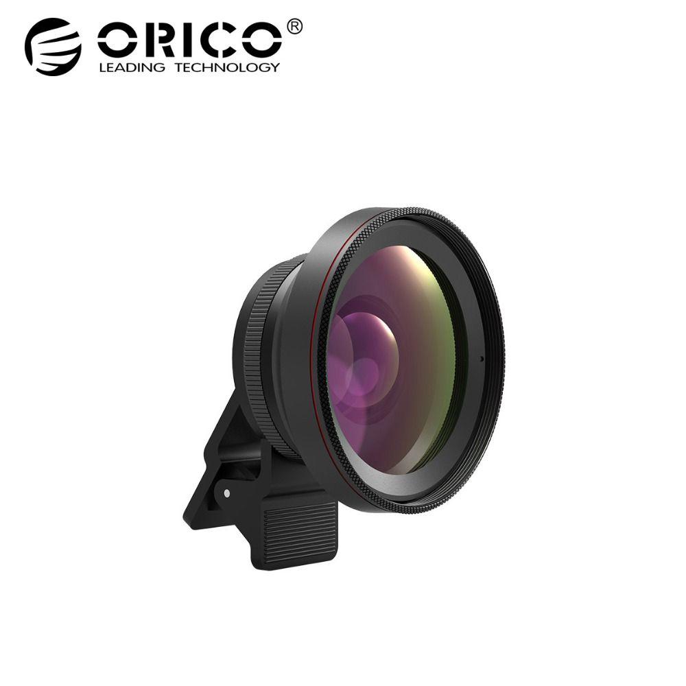 ORICO MPC-A2 Universal Mobile Téléphone Lentille 2 dans 1 Grand Angle + Macro Super Grand Angle Lentilles 59mm Large angle Calibre Pour Téléphone