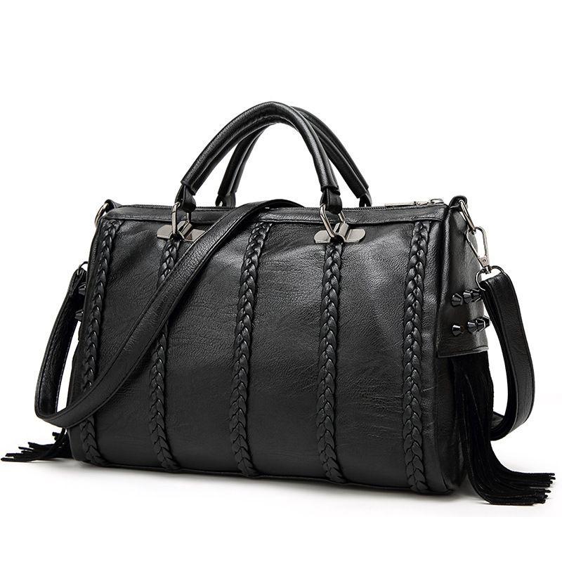women fashion casual crocodile skin ladies handbag ladies bag shoulder leather bag fashion black bags