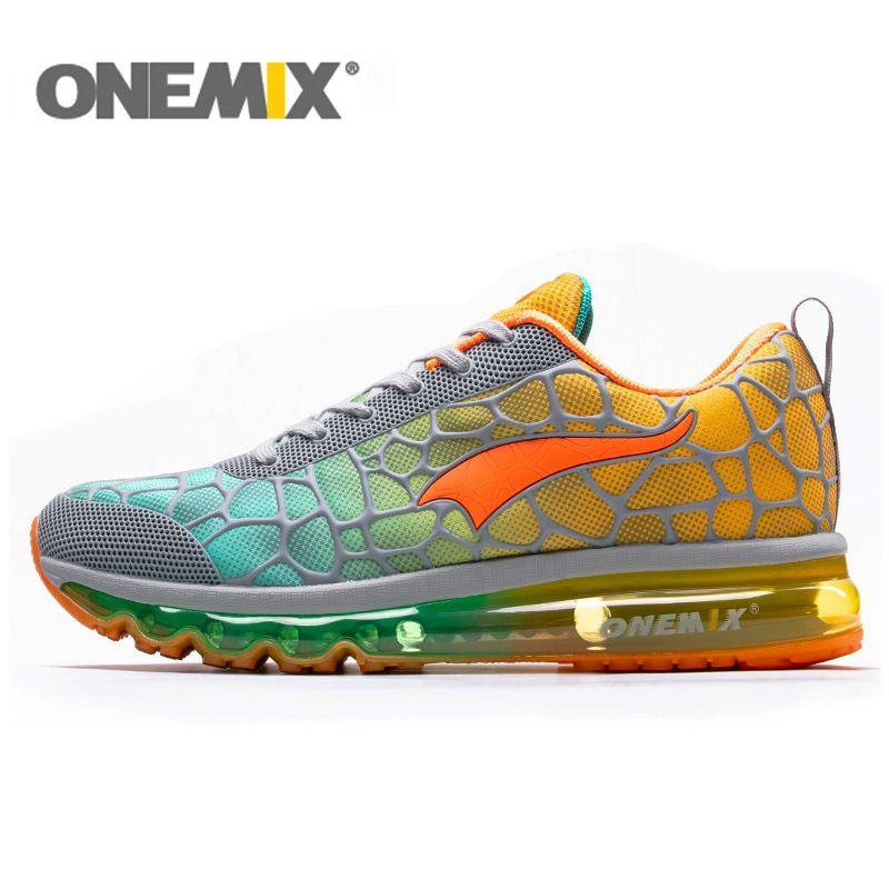ONEMIX Air coussin course chaussures hommes 270 Zapatos De Hombre athlétique en plein Air femmes baskets Max 12.5