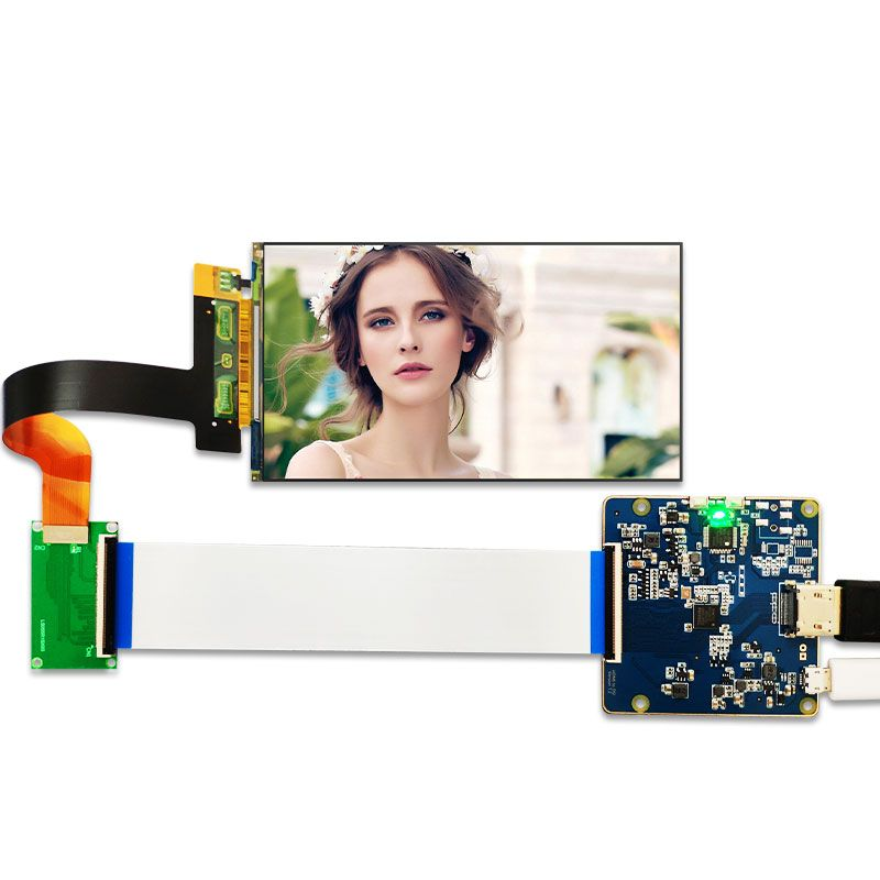 LS055R1SX03 2560x1440 5.5 inch 2K LCD display with HDMI to MIPI controller board for WANHAO D7 3d Printer Projector