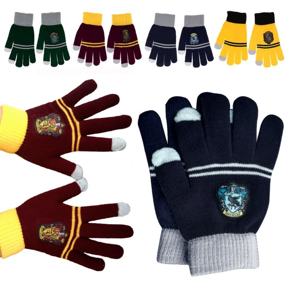Sanheshun Cosplay Harry Potter Gloves College Toys For Kids Halloween Warm Gloves Toys Xmas Gift