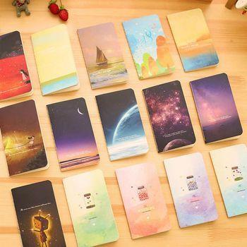 Новый мини Симпатичные тетрадь для дневника с подкладкой Бумага Винтаж ретро Книга-блокнот