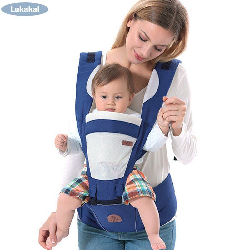 Ergonomic Baby <font><b>Carrier</b></font> BackPack Multifunctional 3 In 1 Baby Sling Breathable Hooded Kangaroo For 1 To 36M Infant Baby BackPack